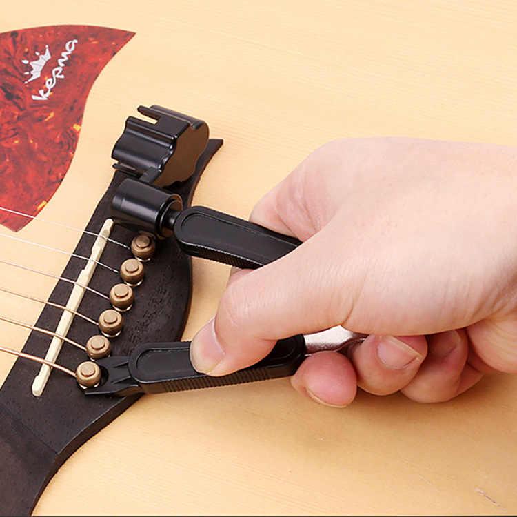 3 في 1 الغيتار أداة الوتد سلسلة يندر + سلسلة دبوس بولير + سلسلة القاطع الغيتار أداة مجموعة متعددة الوظائف الغيتار اكسسوارات GYH