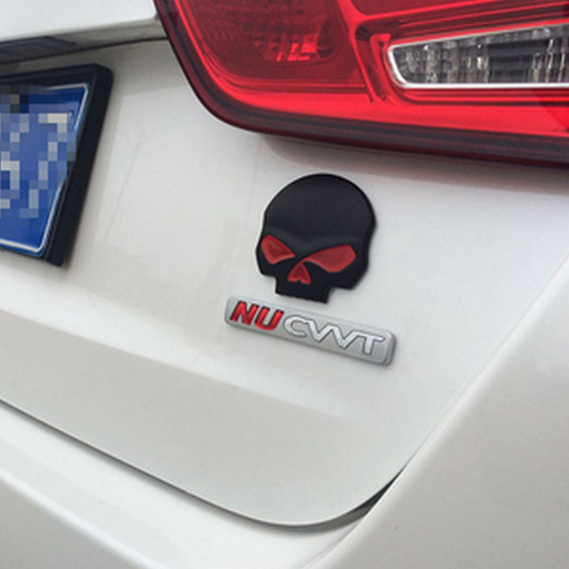 Positive feedback is very important to us pls contact us before you leave neutral or negative feedback about black silver gold fashion 3d skull car sticker