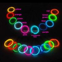 Горячая 3,2 мм 1 м 10 штук 10 цветов гибкий электролюминесцентный провод EL провод веревка трубка светодиодный неоновый свет веревка для Светоди...