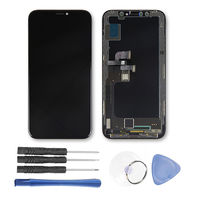 LCD Display Touch Screen Digitizer Assembly with Tools replacement for iPhone X 10 Mobile phone lcd frame Touch Screen Parts