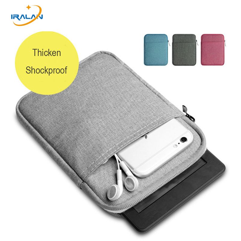 US $4 13 8% OFF|2018 Soft Ultra thin Shockproof Sleeve for Amazon Kindle  Paperwhite bag 1 2 3 for kobo voyage 8th generation 6 inch E book case-in