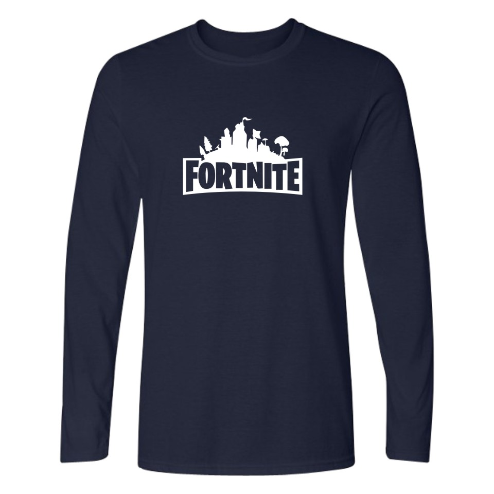 BTS fortnite Game Tshirt Men women Long Sleeve T Shirt survival mode Fashion Long T-shirt Casual tee shirt long XXS-4XL clothes