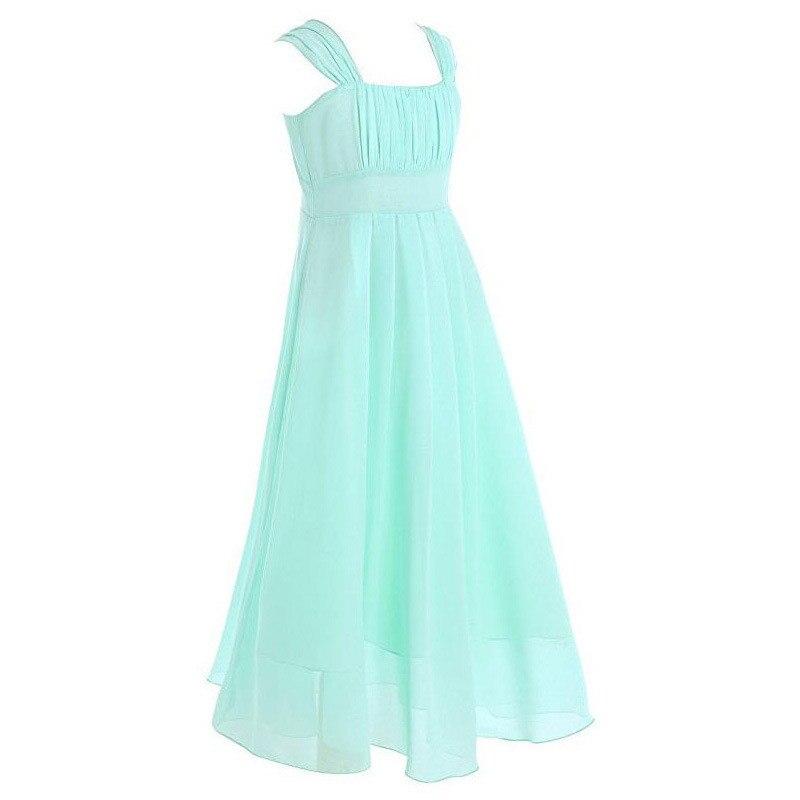Vestido de gasa con pliegues de verano para la moda sin mangas Sin - Ropa de ninos - foto 4