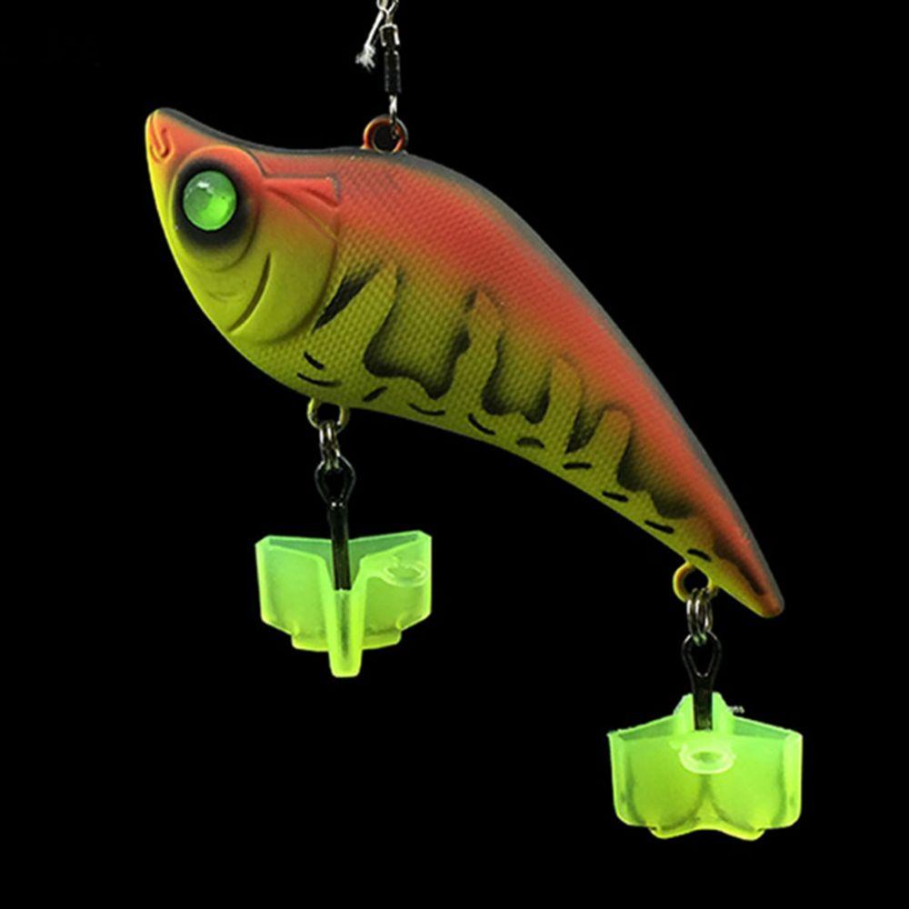 #10 Fishing Hooks Luminous #9 Details about  /Bait Holder for Carp Sea Tackle Fishhooks #8