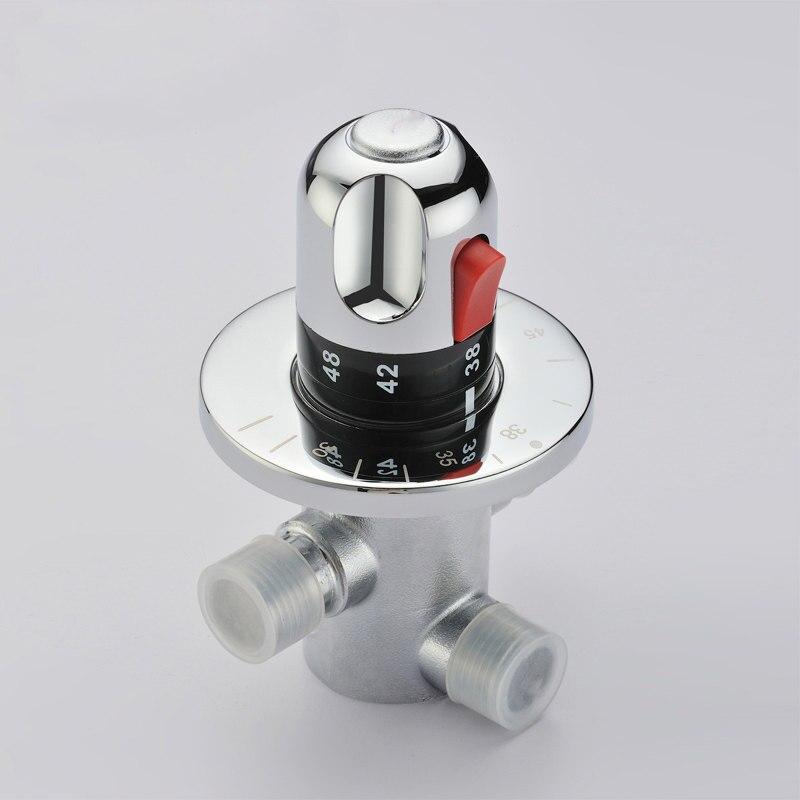 Mitigeur thermostatique pour pommeau de douche bidet pulvérisateur ou robinet robinet température réglable cartouche 11-080