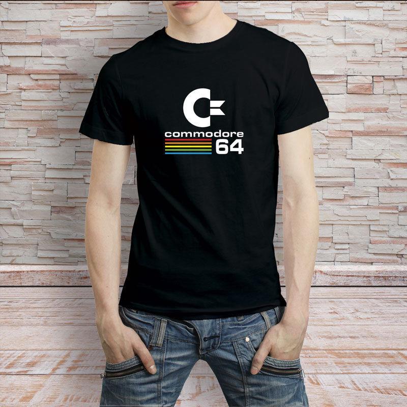 Commodore 64 ретро компьютер Vintage 80-х футболка