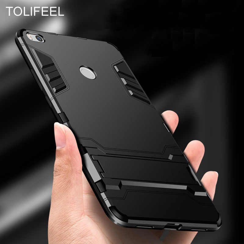 TOLIFEEL For Xiaomi Mi Max 2 Case Silicone Cover Anti-Knock Hard Plastic Hybrid Robot Armor Slim Back Cases For Xiaomi Mi Max2