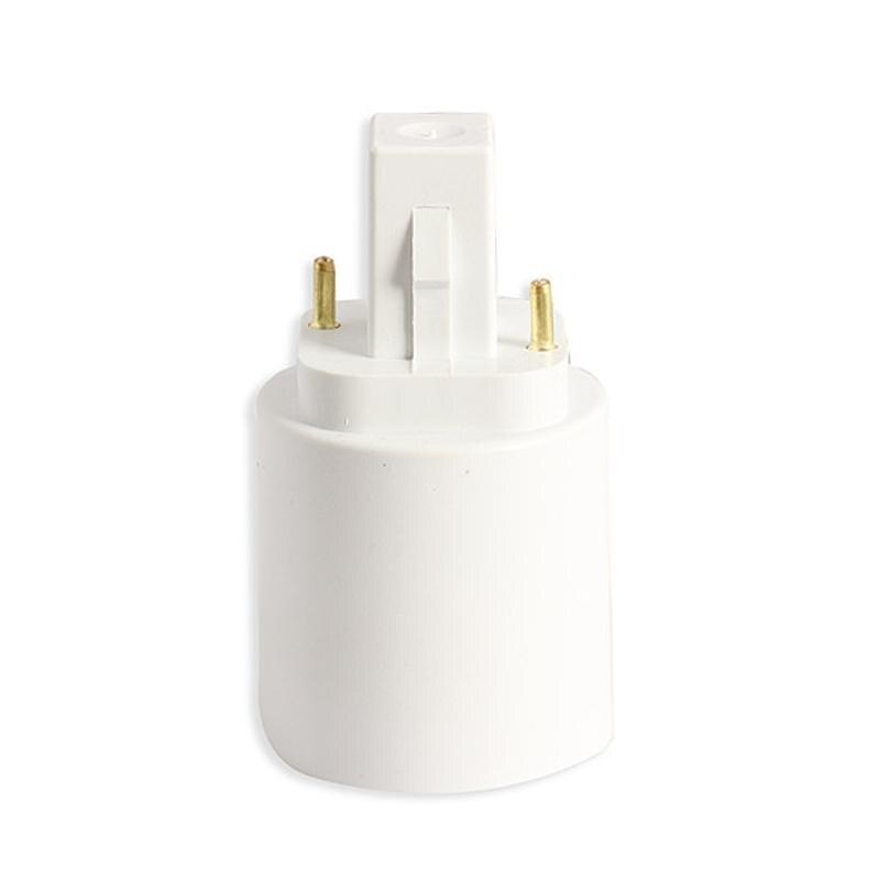 Адаптер лампы G24 к E27 Гнездо База лампы адаптер держатель лампы конвертер для LED галогенный CFL держатель света