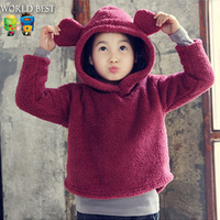 Baby Bear Hoodies Sweatshirt 2015 Autumn And Winter Children Clothing Kids Hoodies Cute Babies Names For