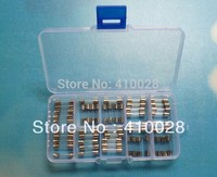 10 Value 100PCS 250V Fast Blow Glass Fuse 5mm X 20mm Assortment Kit 0 5A 1A