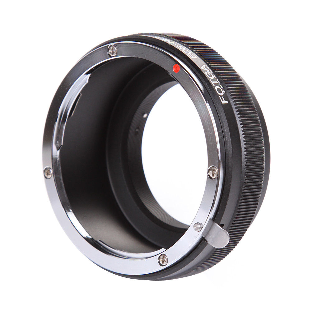 Image 3 - FOTGA Adapter Ring Camera Rings for Canon EOS EF Lens to Sony E Mount NEX 3 NEX 7 6 5N A7R II III A6300 A6500-in Lens Adapter from Consumer Electronics