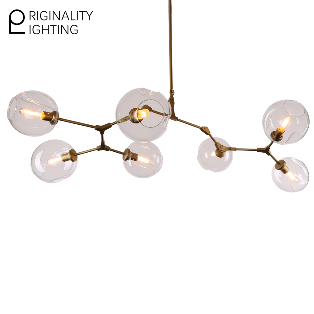 Lindsey adelman 7 globe branching bubble glass modern pendent light lindsey adelman 7 globe branching bubble glass modern pendent light chandelier fixtures lamparas lampara chandelier ceiling loft in pendant lights from arubaitofo Images