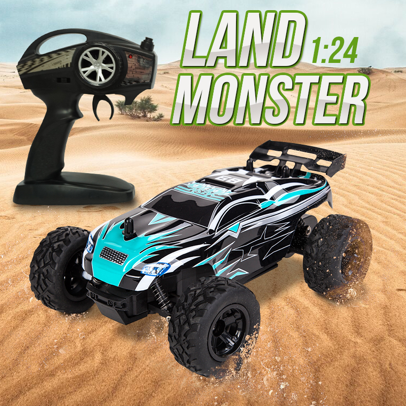 Rc Car Drift Off Road Vehicle 1:24 Remote Control Racing