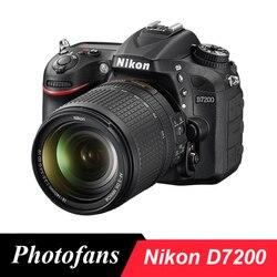 Lustrzanka cyfrowa Nikon D7200 z obiektywem 18 140mm w Aparaty DSLR od Elektronika użytkowa na