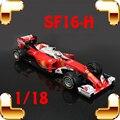 Presente de natal SF16-H F1 1/18 Coleção Modelo de Carro Veículo de Corrida Modelo de Escala de Brinquedos Decoração Meninos Presente Liga de Aço Fundido