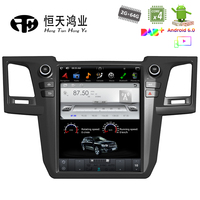 Android 7.1 Tesla Style 12.1 GPS Navigation system for Toyota Fortuner 2013 2014 2015 Bluetooth GPS Radio WIFI Vertical Stereo