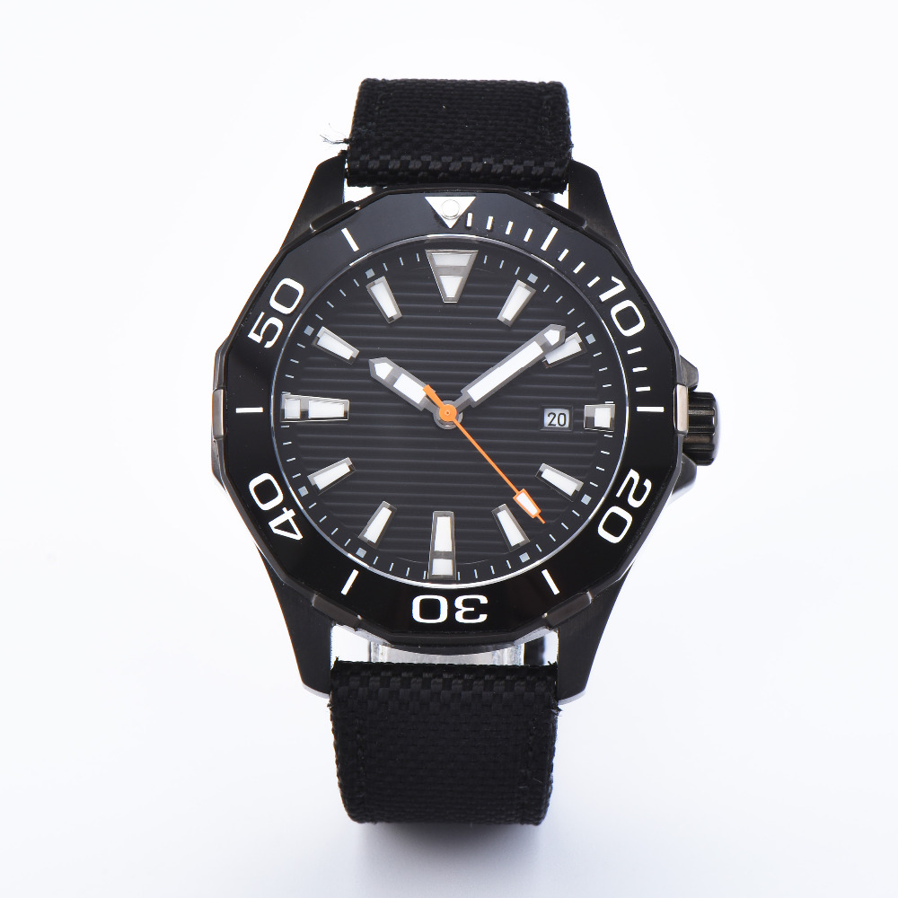 Fashion Leather Mens Miyota Automatic Watches Black PVD Men Wrist Watch 2018 Mens Watches Top Brand Luxury Casual Watch Clock fashion faux leather mens analog quarts watches blue ray men wrist watch 2018 mens watches top brand luxury casual watch clock