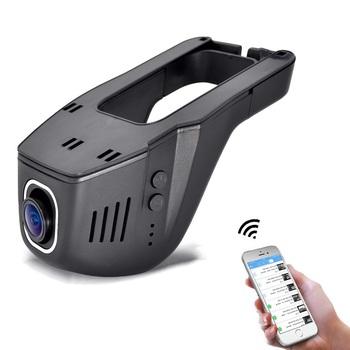 1080P mini Hidden WIFI wideorejestrator samochodowy dwie kamery kamera na deskę rozdzielczą wideorejestrator kamery samochodowe kontrola aplikacji Dvr tanie i dobre opinie Samochód dvr Micro sd tf Bezprzewodowy dostęp do internetu Av-out Usb2 0 Tv-out HDMI Sd mmc W czasie rzeczywistym nadzoru
