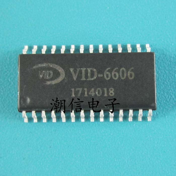 1pcs/lot VID-6606 VID6606 STI-6606 STI6606 6606 SOP-28 In Stock