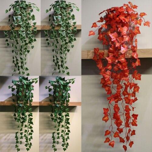 Uk Artificial Trailing Ivy Garlands Vine Plant Garden Wedding Party Outdoor Indoor Artificial Decorations Artificial Plants Aliexpress