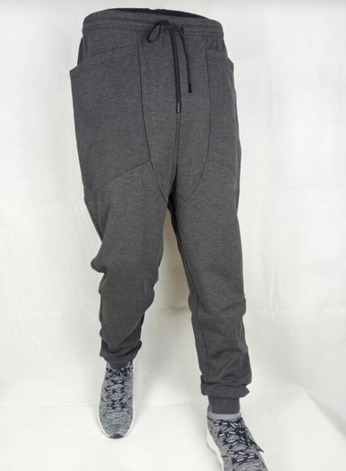 New Casual Harem Pants Athletic Hip Hop Dance Sporty Hiphop Mens Sport Sweat Pants Slacks Loose Long Man Trousers Sweatpants