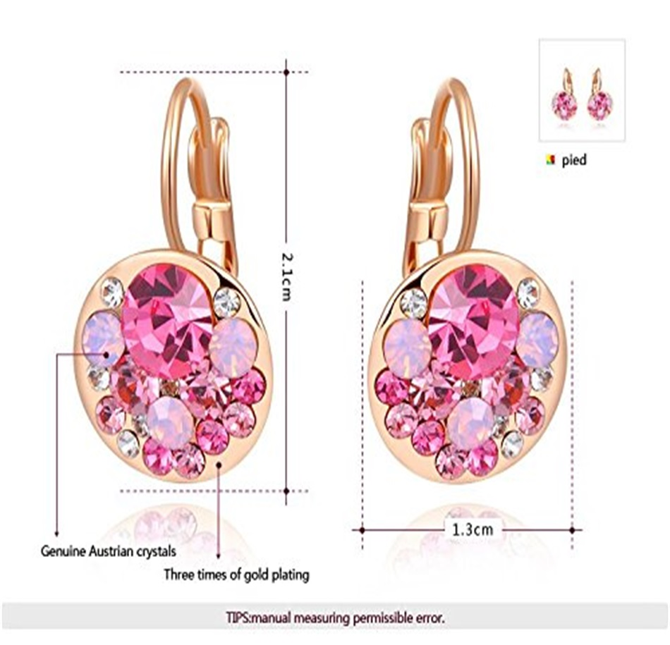 HTB1oheKacrrK1RjSspaq6AREXXan - Luxury Ear Stud Earrings For Women Fashion Round Charm Jewelry Romantic Lovely Accessories Gift Wholesale