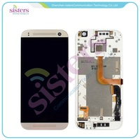 Mobile Phone LCD For HTC One Mini 2 M8 Mini LCD And Touch Screen Assembly Frame