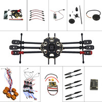 Helicopter Drone 6 axis Aircraft Kit Tarot 680PRO Frame 700KV Motor GPS APM 2.8 Flight Control No Battery Transmitter