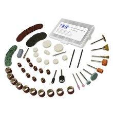 105 шт. гравировальный мини-Сверло по дереву и металлу, набор для шлифовки, полировки, резки 3,2 мм для вращающегося инструмента Dremel