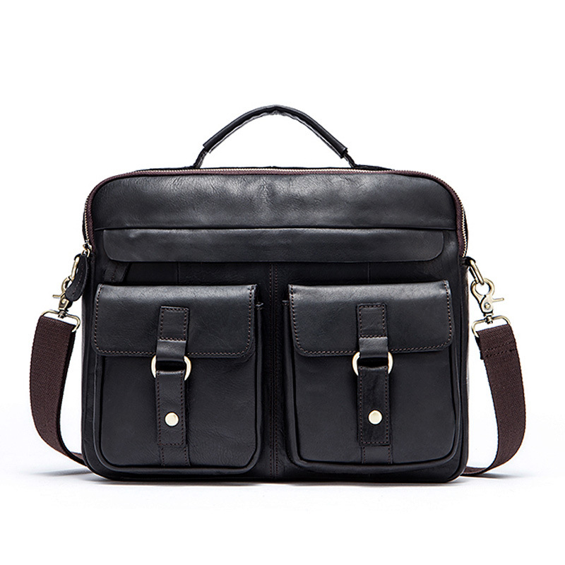 GOOG.YU Genuine Leather Bag Men Messenger Bags Handbag Briescase Business Men Shoulder Bag High Quality Crossbody Bag ograff genuine leather bag men messenger bags handbag briescase business men shoulder bag high quality 2018 crossbody bag men