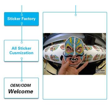 Factory price  waterproof  PVC  strong glue printable vinyl stickers
