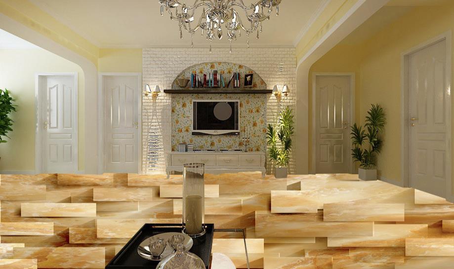 ФОТО Custom 3D stereoscopic floor living room floor murals self-adhesive 3D flooring PVC 3d photo wallpaper