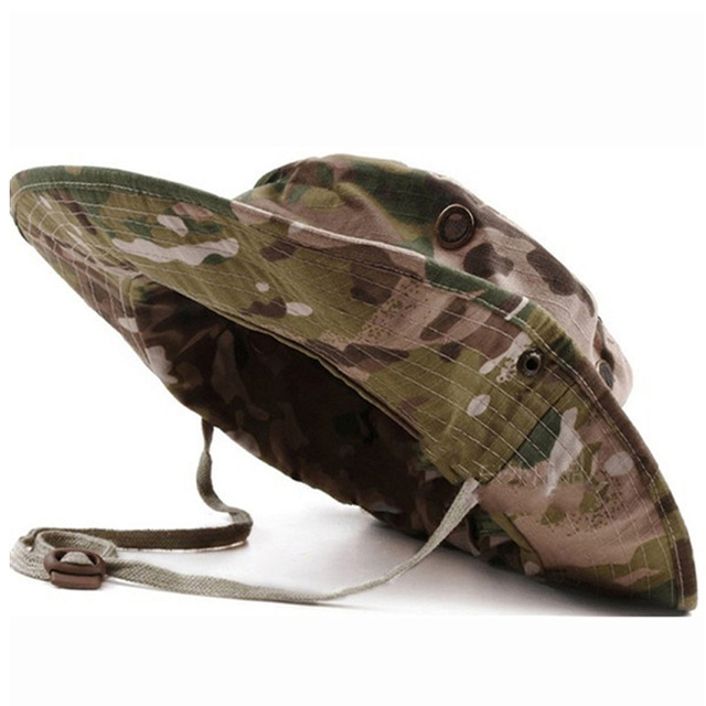 fa391ad900b7a Tactical Airsoft Sniper Camouflage Boonie Hats Nepalese Cap Mens American  Army Military Sun Hats Cap Camouflage Hats - 14xpress Online Shopping Site