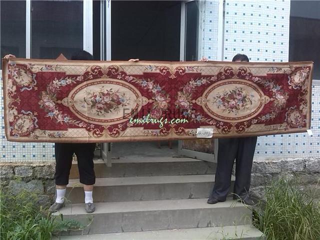Tapijt Voor Gang : Gang tapijt wol hand made tapijten runner patroon aubusson