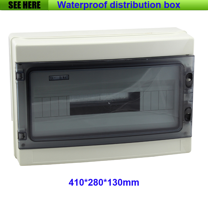High Quality IP66 Project Box Waterproof 18 ways Distribution Box , Distribution Panel Box 410*280*130mm gravity falls dipper s and mabel s guide to mystery and nonstop fun