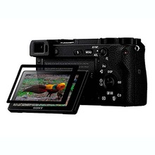 ФОТО PCTC 2x  Sony a6500 Anti-scrch BLACK Tempered Glass Screen Protector FILM Cover Camera