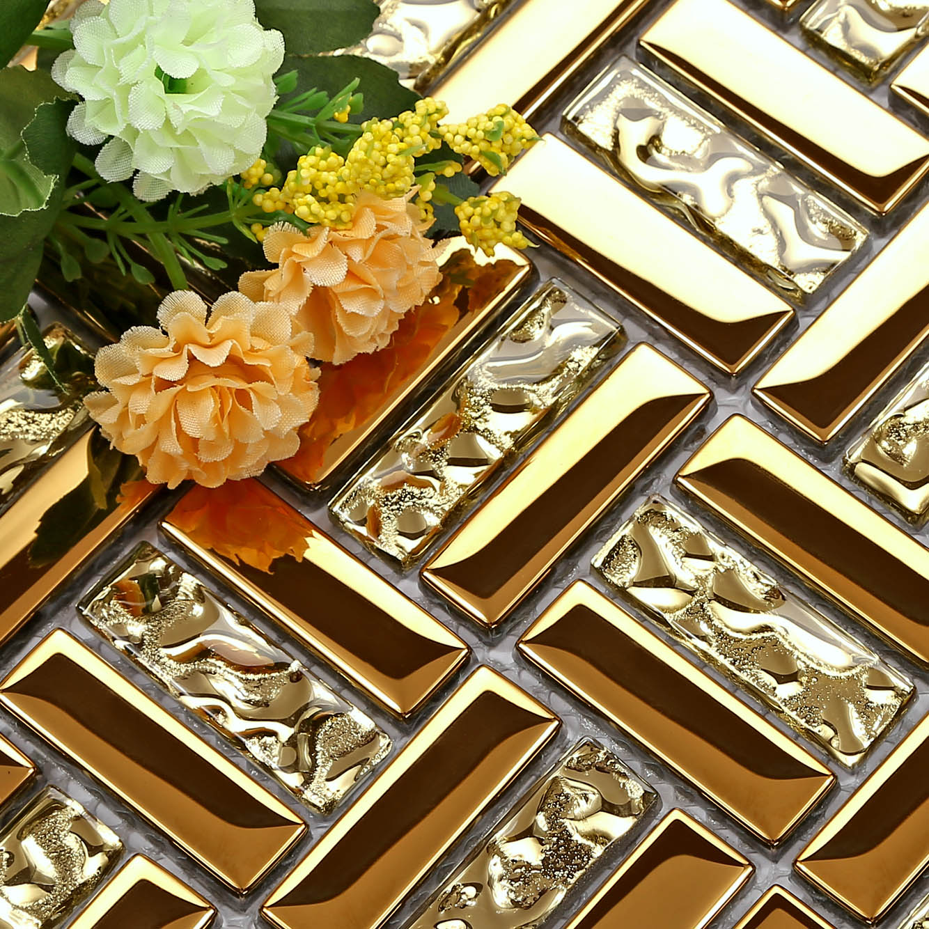 Crystal glass mosaic metal tile puzzle mirror gold background wall crystal glass mosaic metal tile puzzle mirror gold background wall floor tiles wall stickers toilet ceramic tile home decoration on aliexpress alibaba dailygadgetfo Gallery