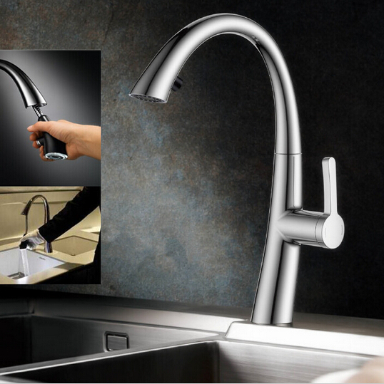 Kitchen mixer new pull out kitchen faucet water tap kitchen with pull out shower kitchen mixer