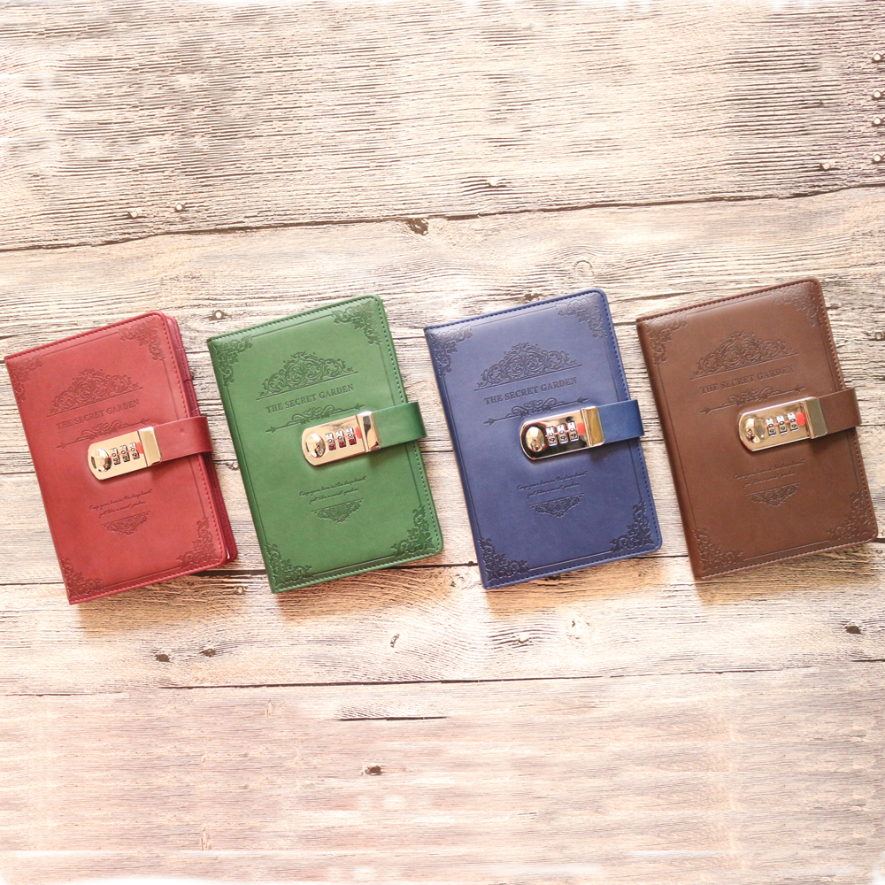 Domikee vintage classic leather hardcover portable travel journal notebooks with password,fine buccaneer traveler journal A6 domikee classic fabric hardcover cover fitted travel journal notebook stationery fine portable office school note pad gift b6