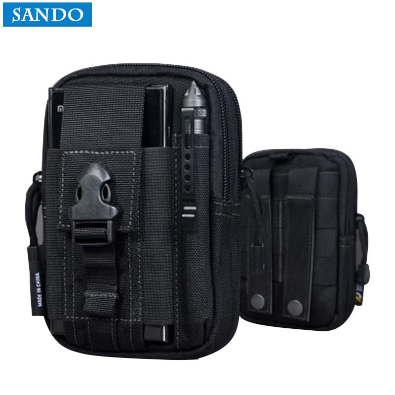 En plein air Mobile Taille Pack Sacs Casual Pochette Bourse Cas de Téléphone pour Iphone pour SAMSUNG