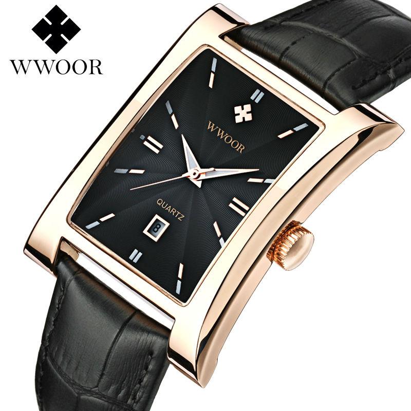 Prix pour Top Marque De Luxe de robe Hommes montres d'affaires quartz montre hommes Étanche 50 m Lumineux Heure Date Horloge Mâle de Sport Montre-bracelet