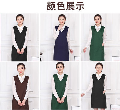 Spring New Supermarket Chain Fresh Apron Promotion Kitchen Advertising Coffee Western Restaurant Apron