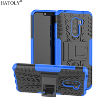 For Cover Xiaomi Pocophone F1 Case Anti-knock Heavy Duty Armor for Poco Silicone Phone Bumper