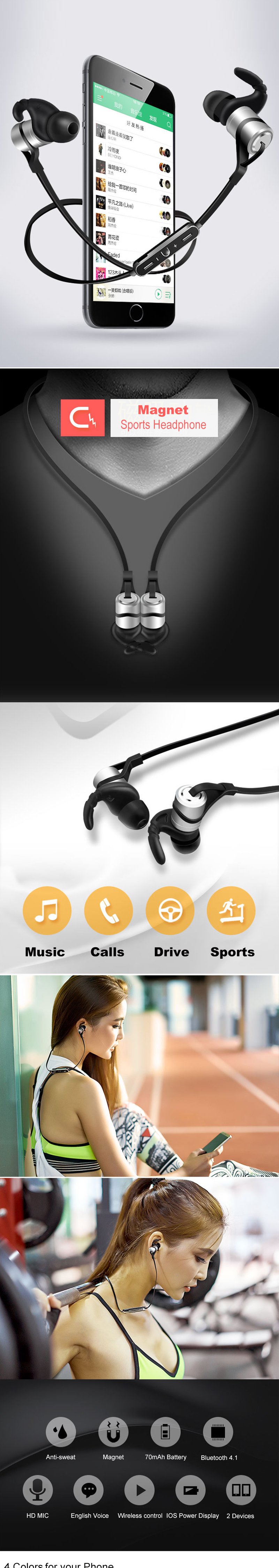 Ubit D9 Bluetooth Earphone (7)