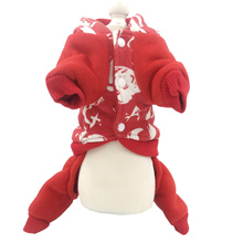 Winter Dog Jumpsuit Pet Outfit Clothes Dog Overalls for Small Dog Pet Fleece Inside S M L XL 2XL