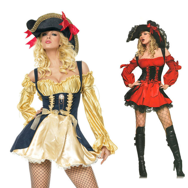 New Gold Pirate Costume women adult party halloween costumes for women Sexy matador Pirate captain cosplay  sc 1 st  AliExpress.com & New Gold Pirate Costume women adult party halloween costumes for ...