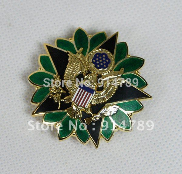US ARMY DOD GENERAL STAFF OFFICER RANK INSIGNIA MEDAL BADGE PIN-32034