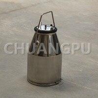 25L Stainless Steel201 Milk Can, Milk Bucket for Goat Milking Machine