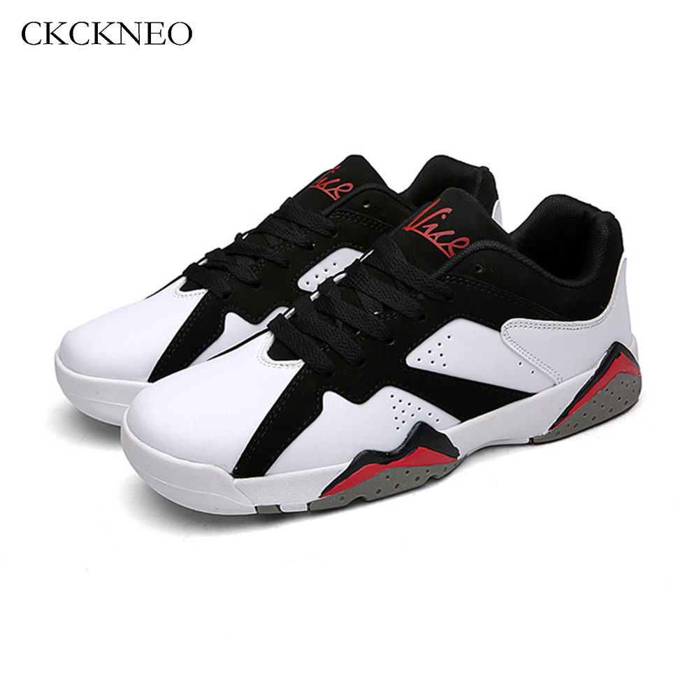 346b4f19786 2017 Mens Basketball Shoes Sneakers For Boys Low cut Sport Shoes Lace up  Black Basket Shoes for Play basketball Jordan Shoes Men-in Basketball Shoes  from ...