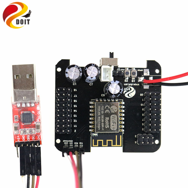 Humanoid Robot Control Board compatible with plen2 plen 2+CP2102 USB 2.0 to UART TTL Connector Module Serial Converter firmware cp2102 usb to ttl stc promini download module for arduino
